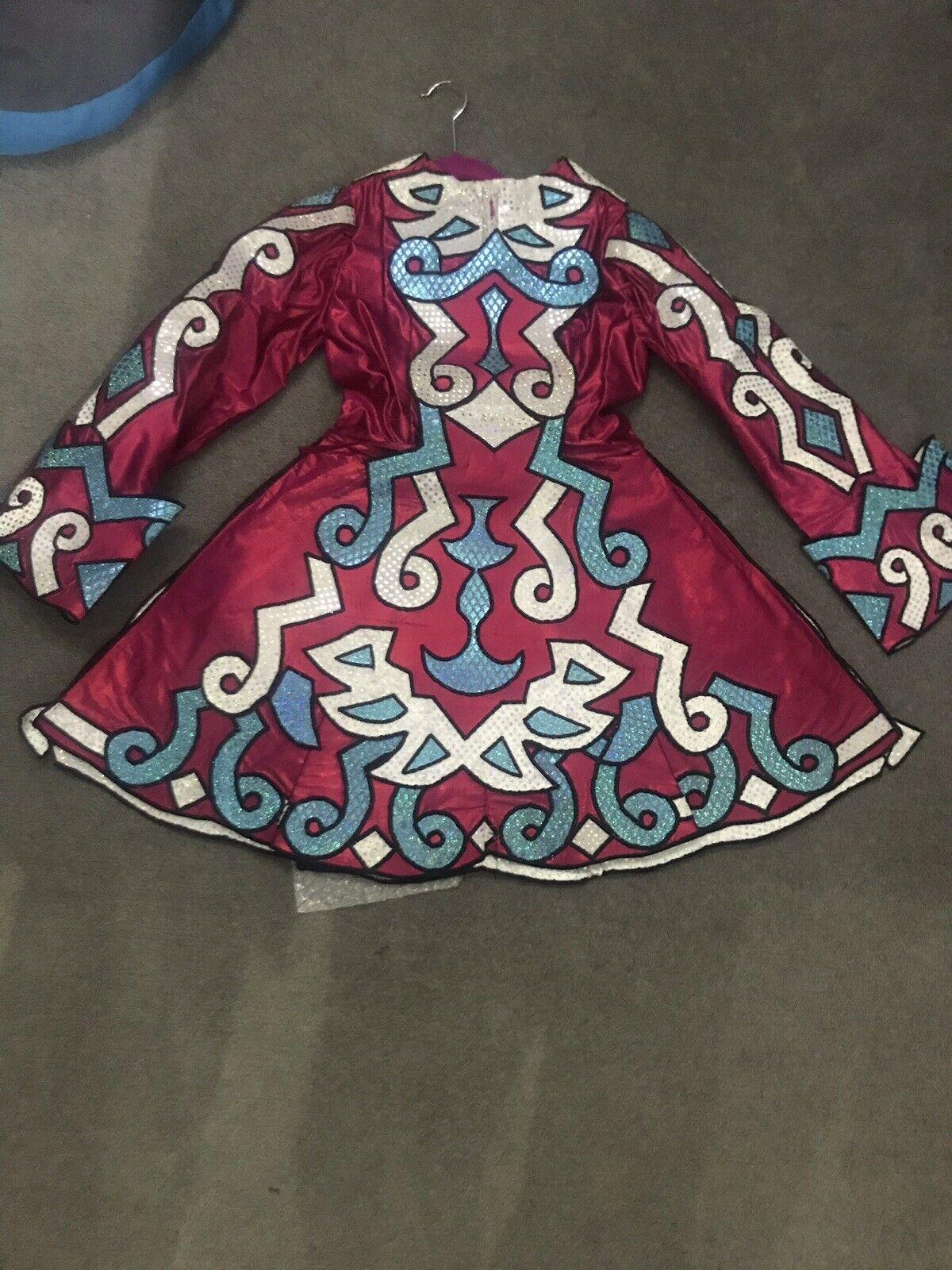 Beautiful Irish Competition Dress - Handmade