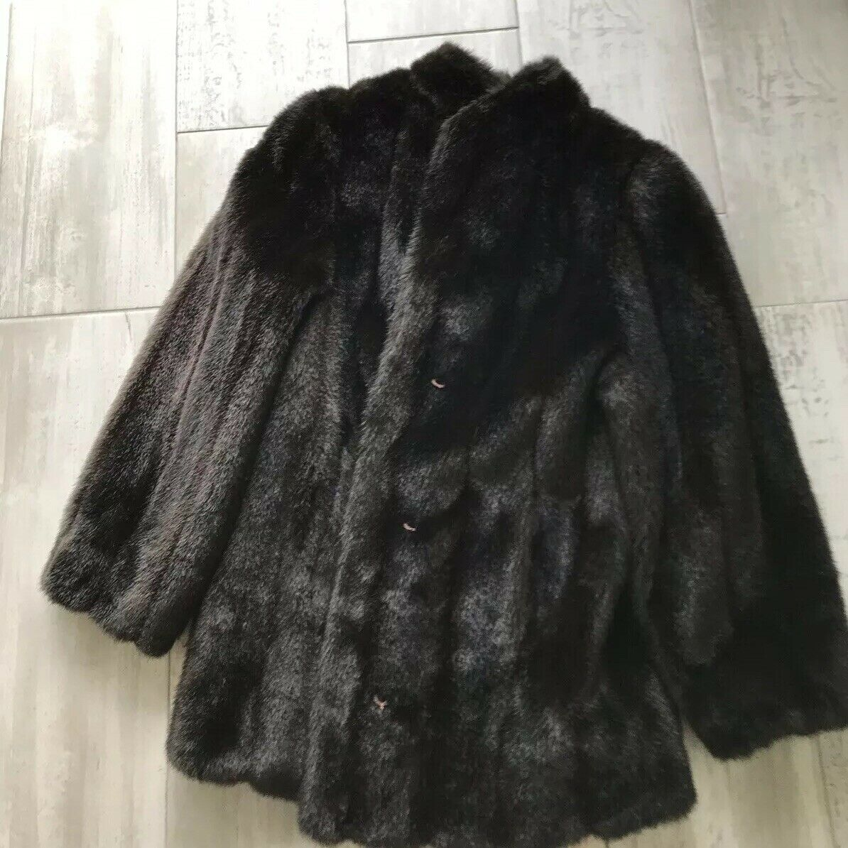 Synthetic Fur Coat Russel Taylor Signature Collection Limited Edition 4999 2657
