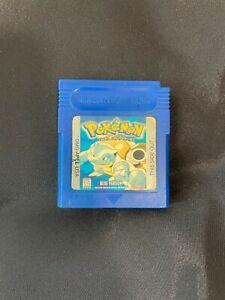 Authentic Pokemon Blue Version (Game Boy, 1998) Nintendo Original Owner !