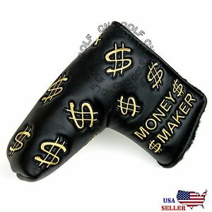 Money-Maker-Putter-Cover-Headcover-For-Scotty-Cameron-Taylormade-Odyssey-Blade