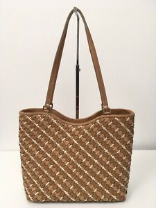 Brown West de de mano dos tejido hombro Nine West Bolso correas dqYPWUwaU