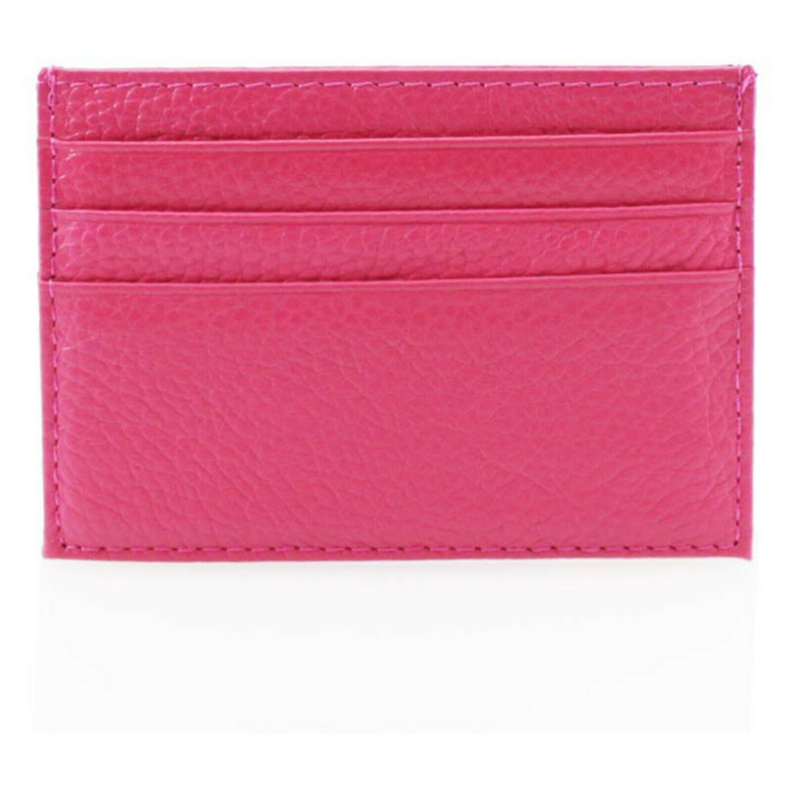 Ladies Unisex Compact CH111 Small Slim Leather Card Holder Multiple Card Slots