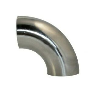 1x 38mm 1.5 Stainless Steel Elbow Pipe Fitting 90 Degree Bend Equipment Tools.