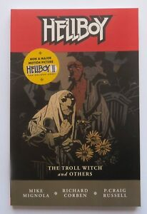 Hellboy-Troll-Witch-and-Others-Vol-7-NEW-Dark-Horse-Graphic-Novel-Comic-Book