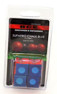 BCE-Snooker-SUPAPRO-CHALK-BLUE-4-Cubes-Snooker-Cue-Pool-Chalk