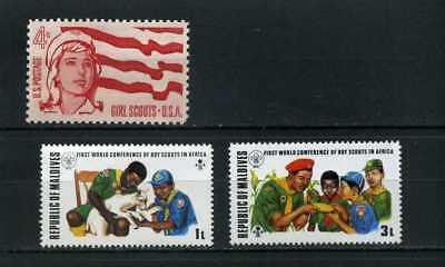 Scouts Of Maldives, U.s.a {3} 50/70s