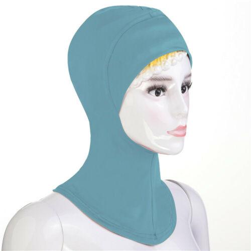 Femmes musulmanes Sous Écharpe Chapeau Bonnet islamique cou Cover Hijab coiffure Châle Ramadan