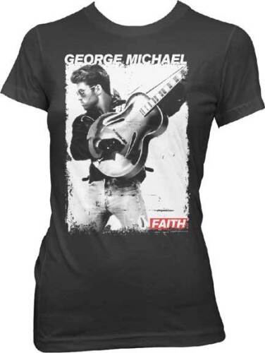 GEORGE MICHAEL Faith Juniors T SHIRT top S-XL New Official Live Nation Merch