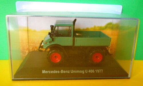 Benz Unimog U 406 1977 Tractor SCALA 1\43 0013 011 TRATTORE Mercedes