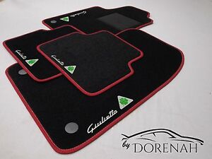 tappetini alfa romeo giulietta tapis de sol alfombras fu matten mat no original ebay. Black Bedroom Furniture Sets. Home Design Ideas