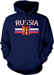 USA World Cup Olympics American Pride Stripe Crest Flag Mens Hoodie Sweatshirt