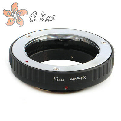 Olympys Pen F Lens to Fuji FX Camera Adapter For Without Tripod Fujifilm X-Pro1