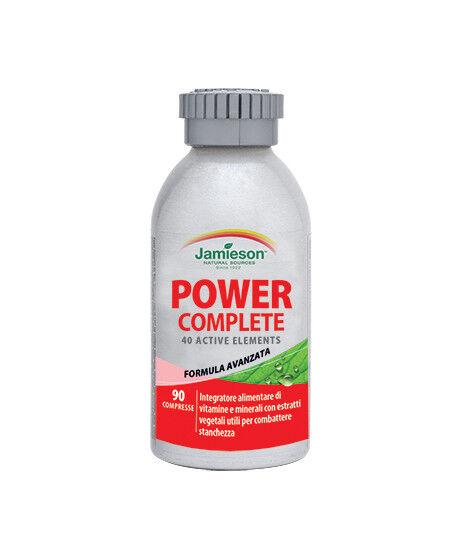 Jamieson Power Complete 90cpr Vitamine Minerali estratti 40 nutrienti
