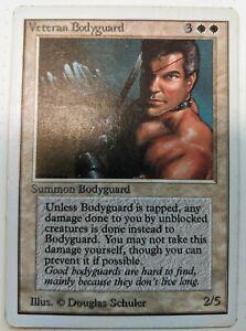 Veteran Bodyguard Revised NM-M White Rare Reserved List MAGIC MTG CARD ABUGames