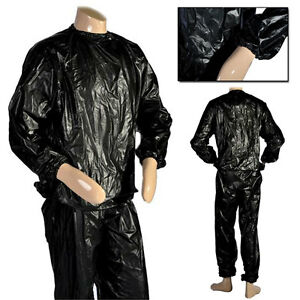 MAXSTRENGTH-PU-Sweat-Sauna-Suit-Weight-loss-fitness-exercise-running-For-Uni-Sex