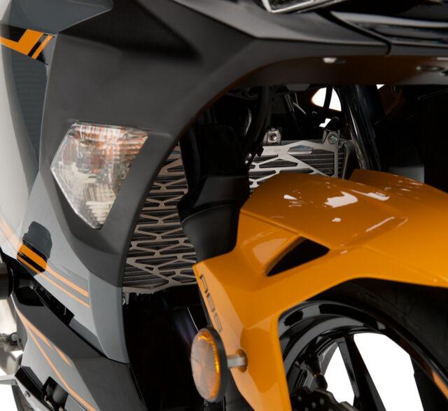 Kawasaki Radiator Trim-Fits 2018 & 2019 Ninja® 400 & 2019 Z400-Genuine  Kawasaki