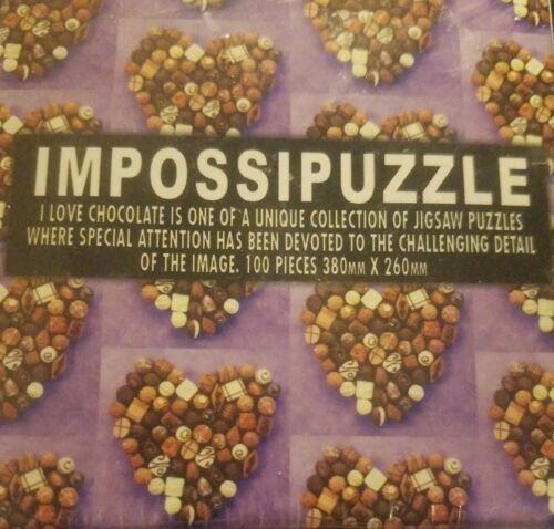 Impossipuzzle I Love Chocolate 100-piece Puzzle