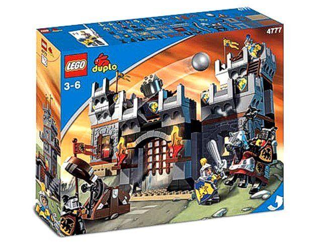 Lego 4777 Duplo Grosse Ritterburg - Neu   - Rarität von 2004