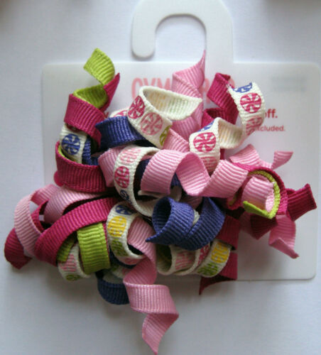 Gymboree Curly Curlies Hair Accessories Barrette Pairs Your Choice 2007-08 NEW