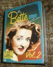 Bette Davis Collection - Volume 2 (DVD, 2006, 7-Disc Set),NEW & SEALED,VERY RARE
