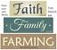 Joanie Stencil Faith Family Farming Country Home Ranch Farmhouse Block Art Signs