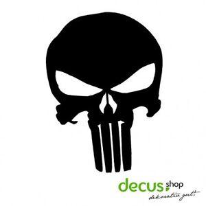 Punisher-Totenkopf-Sticker-JDM-Aufkleber-Frontscheibe