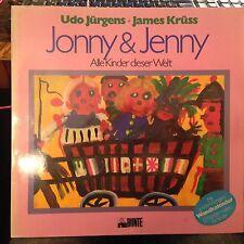 LP Udo Jürgens >Jonny & Jenny<  mit WANDKALENDER!! MEGARAR & TOP!!