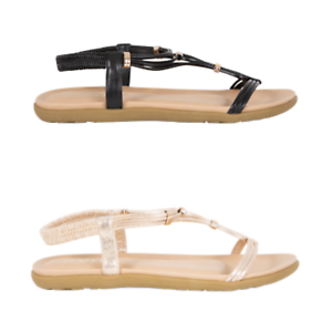 Details about NEW Spendless Womens Gleam Vybe Strappy Summer Sandal