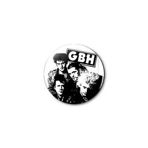 GBH 1.25in Pins Buttons Badge *BUY 2, GET 1 FREE*