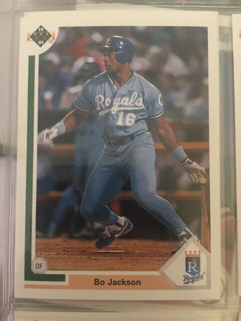 1991 Upper Deck Bo Jackson 545 Baseball Card