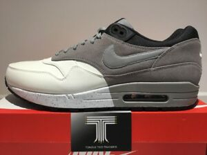 Nike Air Max 1 Premium Leather ~ Rare! Only One On Ebay!! 512033 101 ... 1efe59e65d