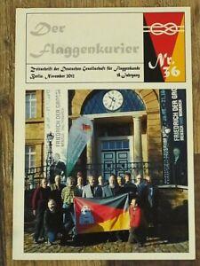 DER FLAGGENKURIER NO. 36; German language Flag Book