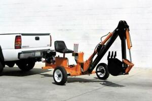 HOC P301 TOWABLE BACKHOE TOWABLE EXCAVATOR + 1 YEAR WARRANTY + FREE SHIPPING Canada Preview