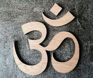 wall decor Chrome plated Stainless steel BIG SIZED om symbol metal art work