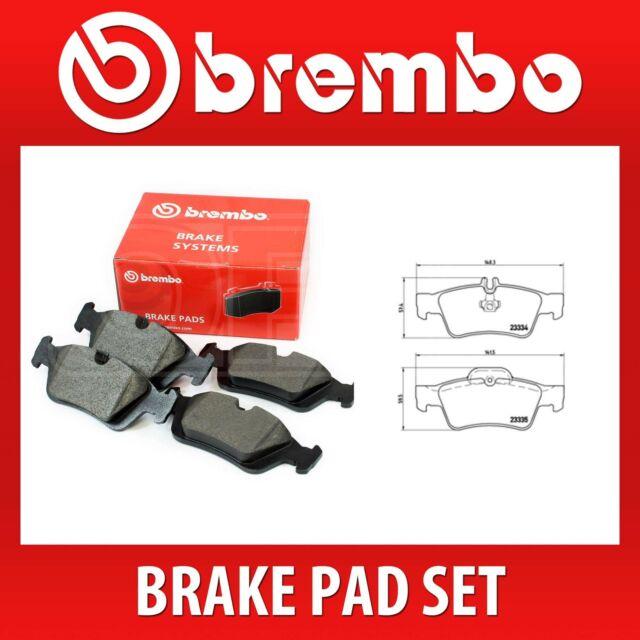 Brembo Rear Brake Pad Set (2 Wheels on 1 Axle) P 50 052 / P50052 - Fits MERC