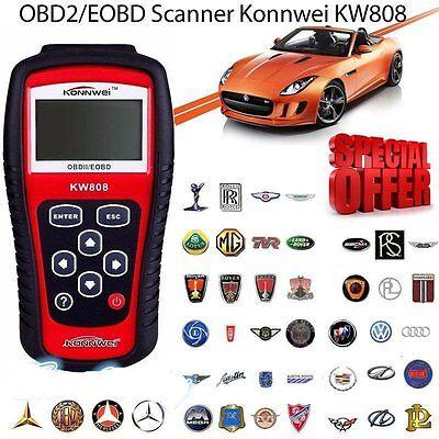 Kfz OBD2 Diagnosegerät Diagnose Scanner Tester für Auto PKW LKW Fahrzeug MM