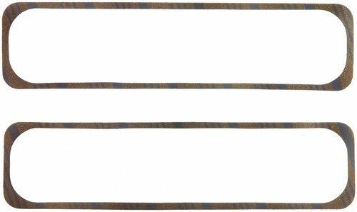 "FEL-PRO VALVE COVER GASKETS P//N#1648 1//4/"" 86-97 SBC CORK-LAM //RUBBER STEEL CORE"