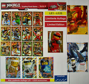Lego Ninjago Trading Card Game Série 4 édition Limitée Le1-le25, Dragon-afficher Le Titre D'origine Aemicd8c-07233857-281803784