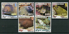 Ascension Island 2017 MNH Eels 6v Set Moray Eel Fish Fishes Marine Stamps
