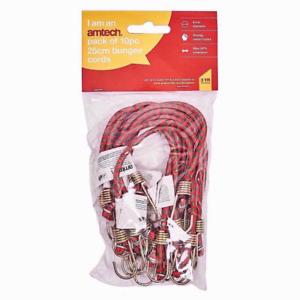 environ 25.40 cm Neuf 10 Pièce 10 in Mini Cordon Sangles Élastique Choc Crochets Extensible UK