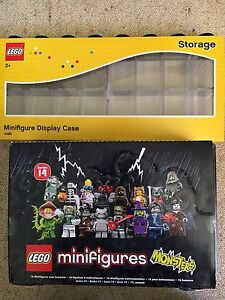 NEW-LEGO-Minifigure-Series-14-60-Figures-amp-Display-Case-4066-Free-Shipping