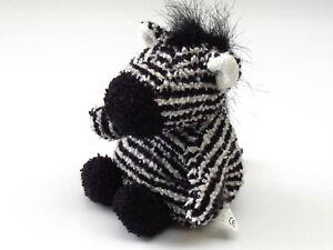 Russ-ZIPPY-ZEBRA-Mini-Bean-Bag-Plush-12cm-Terry-Cloth-Stuffed-Animal-Soft-Toy