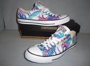 c60e51346aa6f7 Mens Womens CONVERSE Chuck Taylor ALL STAR 155396F Tropical Print ...
