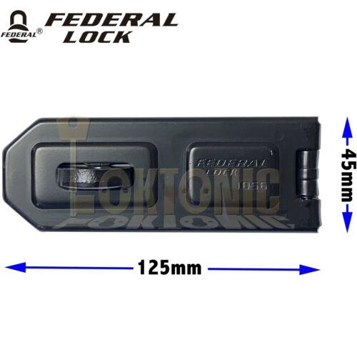 Federal FD1056 Hohe Sicherheit Garage Schuppen Van Gate Stahl Haspe und Heften