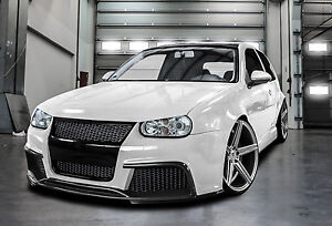 vw golf 4 bodykit frontsch rze hecksch rze schweller ebay. Black Bedroom Furniture Sets. Home Design Ideas