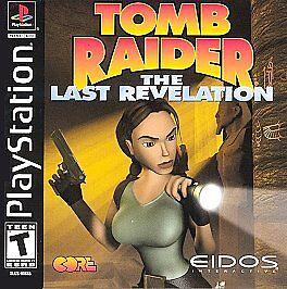 Tomb Raider The Last Revelation Sony Playstation 1 1999 For