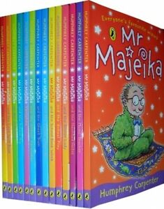 Mr-Majeika-Childrens-Reading-Collection-14-Books-Set-by-Humphrey-Carpenter-NEW
