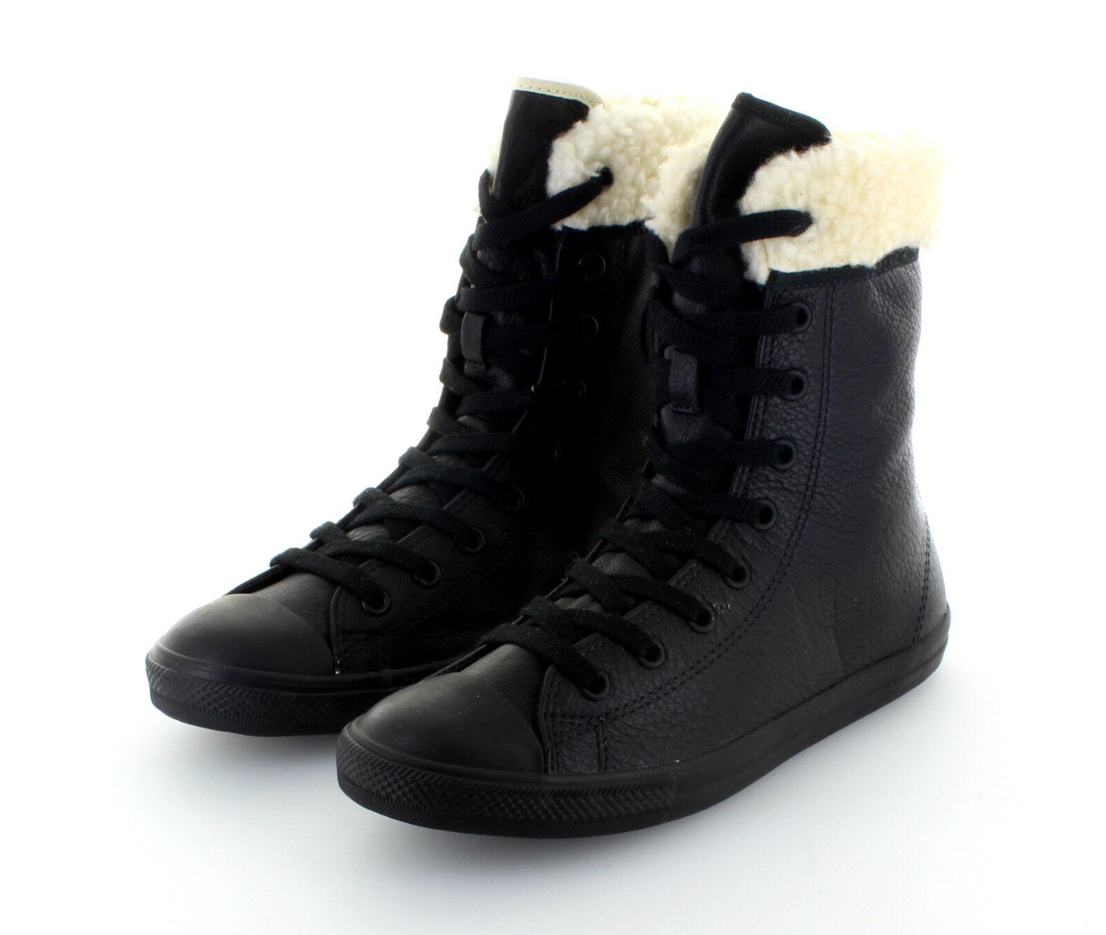 Converse All Star Chuck Taylor XHI dainty Black Leather forradas
