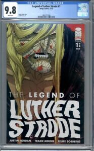 The Legend of Luther Strode #1  Image Comics (2012)  1st Print  CGC 9.8