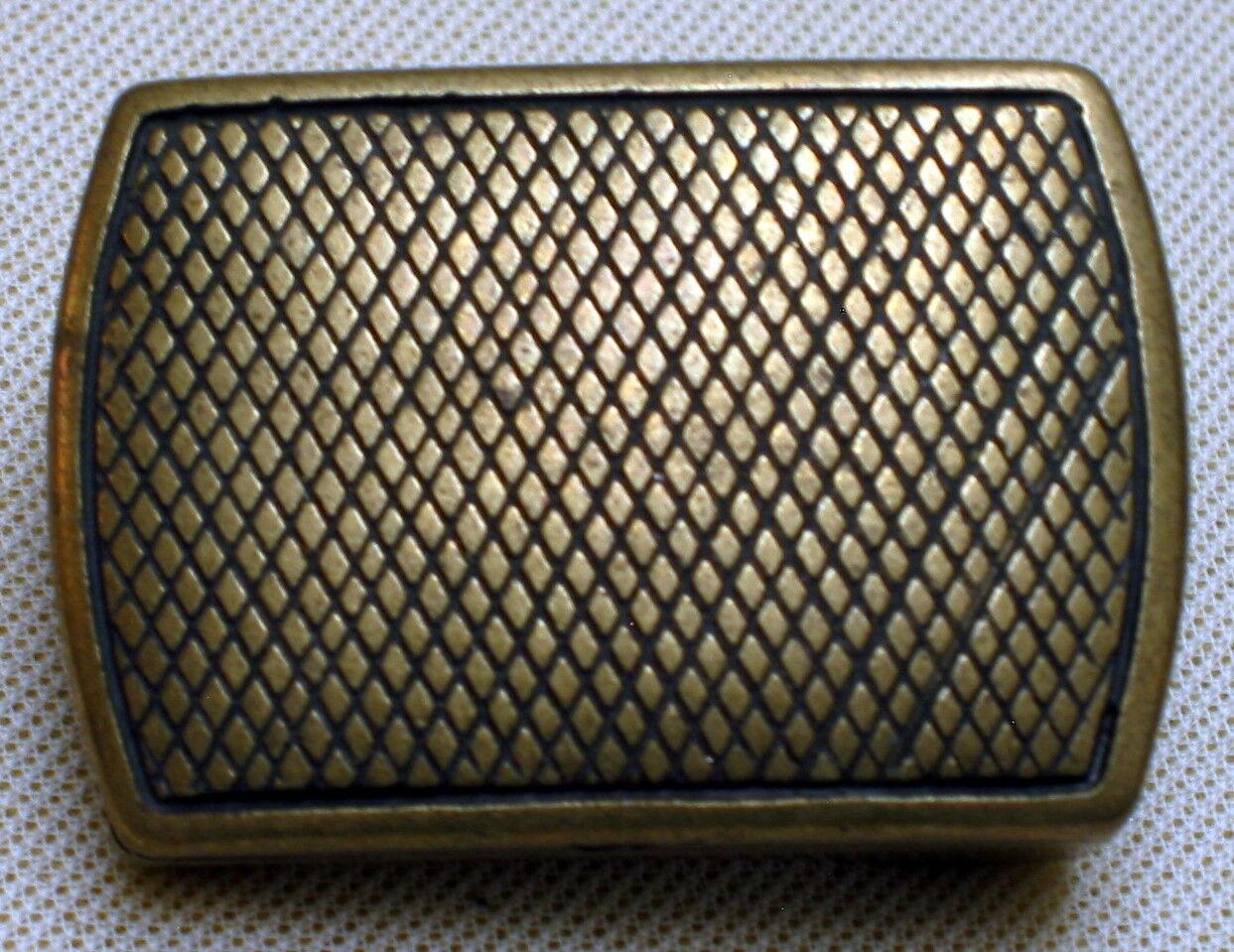 TOP Gürtelschnalle ELEGANT Premium NEU für 3cm breite GÜRTEL Farbe: ALTMESSING #